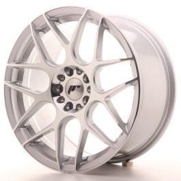 JR Wheels JR18 18×8,5 ET40 5×112/114 Silver Machined Face