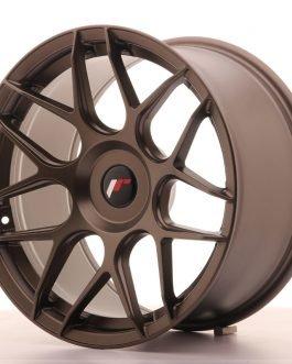 JR Wheels JR18 18×9,5 ET20-40 BLANK Matt Bronze