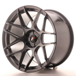 JR Wheels JR18 19×11 ET15-30 5H BLANK Hyper Black