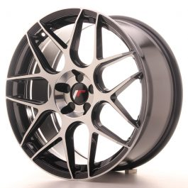JR Wheels JR18 19×8,5 ET20-42 5H BLANK Gloss Black Machined Face