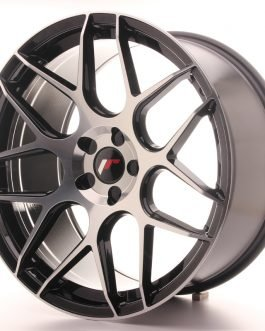 JR Wheels JR18 20×10 ET20-45 5H BLANK Gloss Black Machined Face