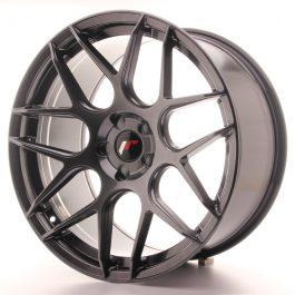 JR Wheels JR18 20×10 ET20-45 5H BLANK Hyper Black