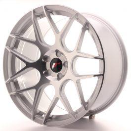 JR Wheels JR18 20×10 ET20-45 5H BLANK Silver Machined Face