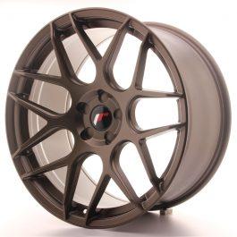 JR Wheels JR18 20×10 ET40-45 5H BLANK Matt Bronze