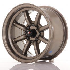 JR Wheels JR19 14×8 ET-13 4×100/114 Matt Bronze