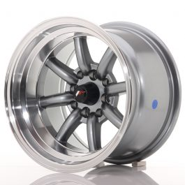 JR Wheels JR19 14×9 ET-25 4×100/114 Gun Metal w/Machined Lip