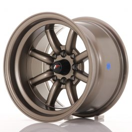 JR Wheels JR19 14×9 ET-25 4×100/114 Matt Bronze
