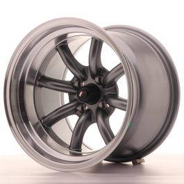 JR Wheels JR19 15×10,5 ET-32 4×100 Gun Metal w/Machined Lip