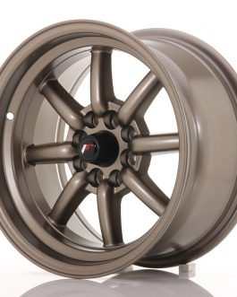 JR Wheels JR19 15×8 ET0 4×100/108 Matt Bronze