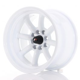 JR Wheels JR19 15×9 ET-13 4×100/114 White