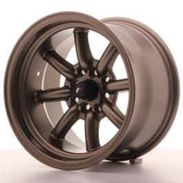 JR Wheels JR19 15×9 ET-13 4×100/108 Matt Bronze