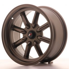 JR Wheels JR19 16×8 ET-20-0 BLANK Matt Bronze