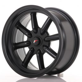 JR Wheels JR19 16×8 ET-20-0 BLANK Matt Black