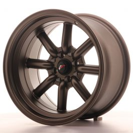 JR Wheels JR19 16×9 ET-15 4×100/114 Matt Bronze