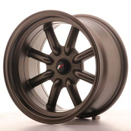 JR Wheels JR19 16×9 ET-25-(-15) BLANK MatBronz