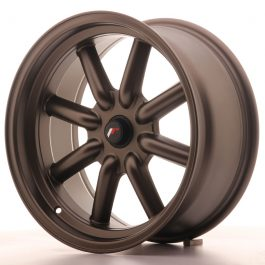 JR Wheels JR19 17×8 ET-20-0 BLANK Matt Bronze