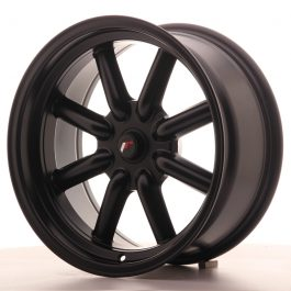 JR Wheels JR19 17×8 ET-20-0 BLANK Matt Black