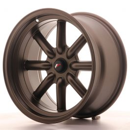 JR Wheels JR19 17×9 ET-25-(-10) BLANK MatBronze