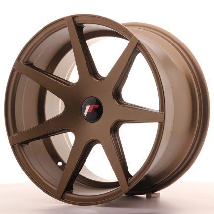 JAPAN RACING JR Wheels JR20 18x9,5 ET40 BLANK Matt Bronze 9.50x18