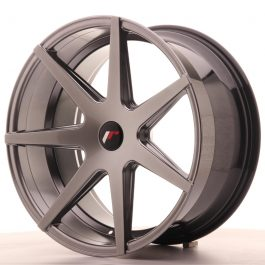 JR Wheels JR20 20×10 ET40 5H BLANK Hyper Black