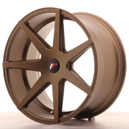 JR Wheels JR20 20×10 ET40 5H BLANK Matt Bronze