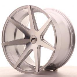 JR Wheels JR20 20×11 ET20-30 5H BLANK Silver Machined Face