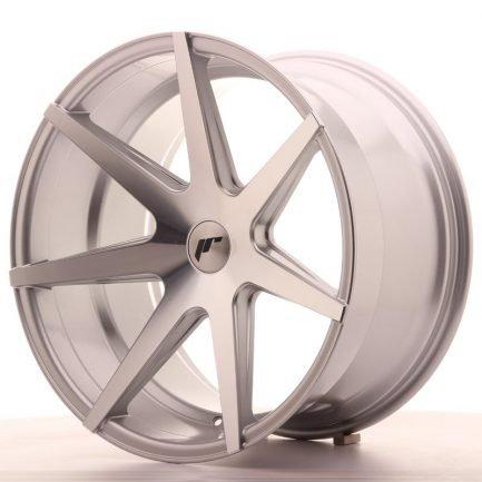 JAPAN RACING JR Wheels JR20 20x11 ET20-30 5H BLANK Silver Machined Face 11.00x20