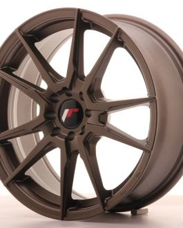 JR Wheels JR21 17×7 ET25 4×100/108 Matt Bronze