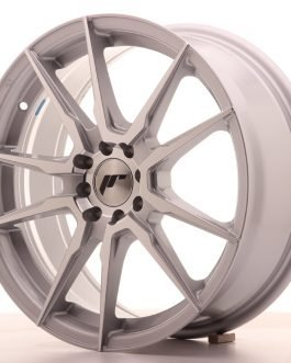 JR Wheels JR21 17×7 ET25 4×100/108 Silver Machined Face