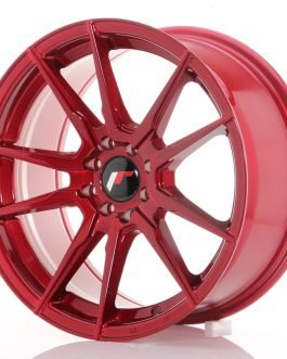 JR Wheels JR21 17×8 ET35 4×100/114 Platinum Red