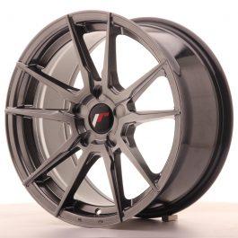 JR Wheels JR21 17×8 ET35 5H BLANK Hyper Black