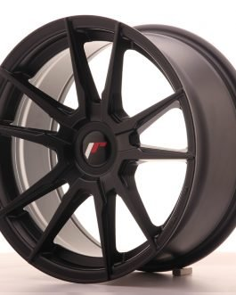 JR Wheels JR21 17×8 ET35 BLANK Matt Black