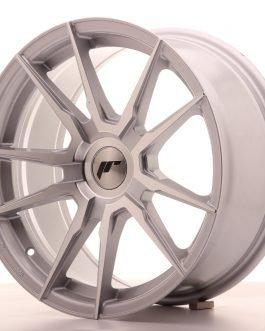 JR Wheels JR21 17×8 ET35 BLANK Silver Machined Face