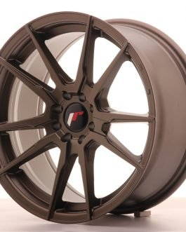 JR Wheels JR21 17×8 ET25 4×100/108 Matt Bronze