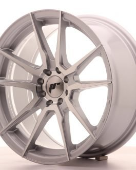 JR Wheels JR21 17×8 ET25 4×100/108 Silver Machined Face