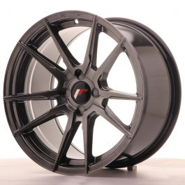 JR Wheels JR21 17×9 ET25-35 4H BLANK Hyper Black
