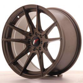 JR Wheels JR21 17×9 ET20 5×100/114 Matt Bronze