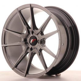 JR Wheels JR21 18×8,5 ET30-40 4H BLANK Hyper Black