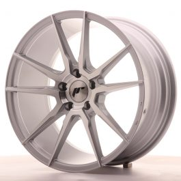 JR Wheels JR21 18×8,5 ET40 5×112 Silver Machined Face