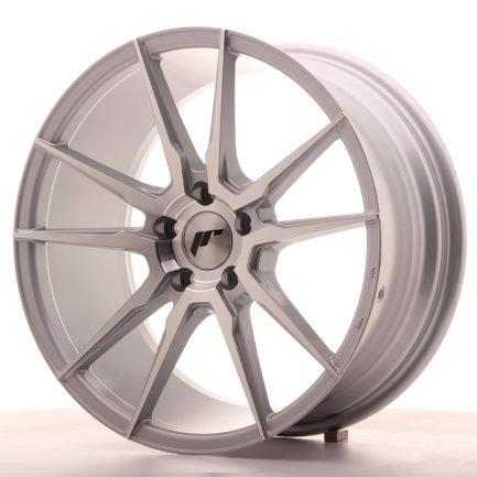JAPAN RACING JR Wheels JR21 18x8,5 ET40 5x112 Silver Machined Face 8.50x18