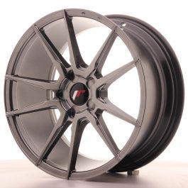 JR Wheels JR21 18×8,5 ET20-30 5H BLANK Hyper Black