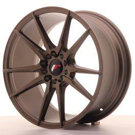 JR Wheels JR21 18×8,5 ET40 5×112/114 Matt Bronze