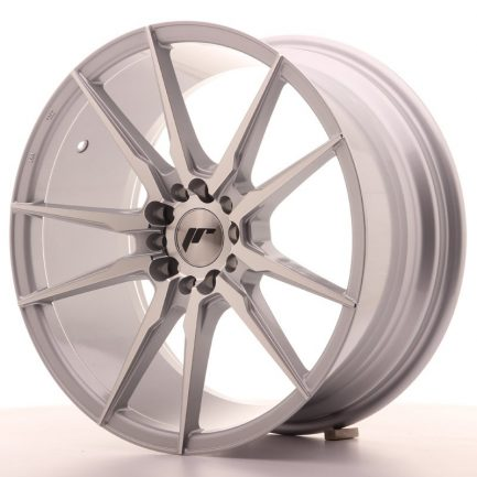 JAPAN RACING JR Wheels JR21 18x8,5 ET40 5x112/114 Silver Machined Face 8.50x18