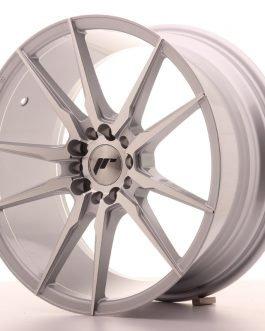 JR Wheels JR21 18×8,5 ET35 5×100/120 Silver Machined Face