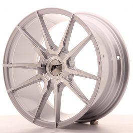 JR Wheels JR21 18×8,5 ET20-30 BLANK Silver Machined Face