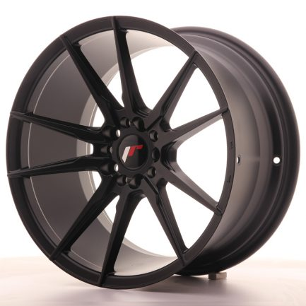 JAPAN RACING JR Wheels JR21 18x9,5 ET40 5x112/114 Matt Black 9.50x18