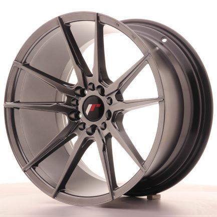 JAPAN RACING JR Wheels JR21 18x9,5 ET40 5x112/114 Hyper Black 9.50x18