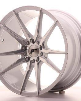 JR Wheels JR21 18×9,5 ET35 5×100/120 Silver Machined Face