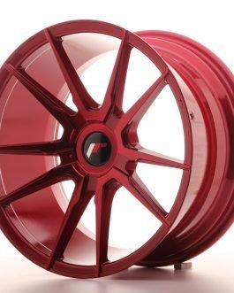 JR Wheels JR21 18×9,5 ET20-40 BLANK Platinum Red