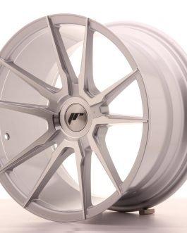 JR Wheels JR21 18×9,5 ET20-40 BLANK Silver Machined Face